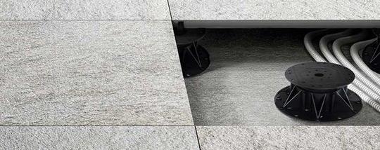 bonacina ceramiche pavimento sopraelevato
